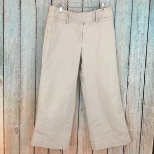 5/$20 Bundle Sale Jcrew khaki wide leg capri pants